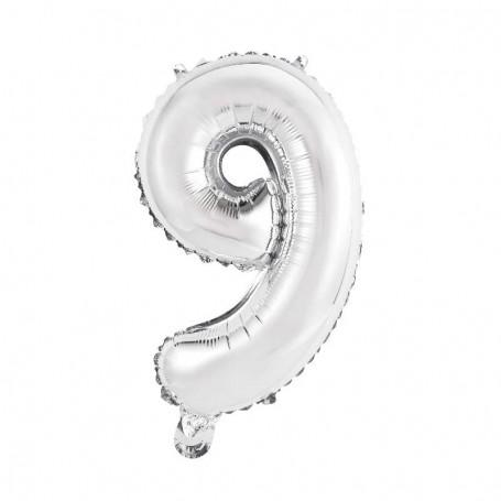 Sifferballong nr. 9, 35 cm