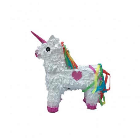 Piñata i form av en Unicorn.