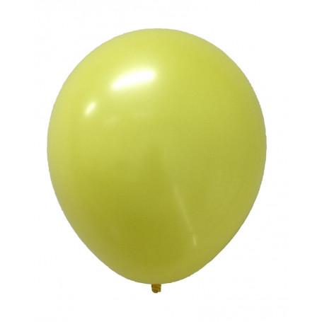 Gula ballonger enfärgade latex ballonger student studentfest bamse