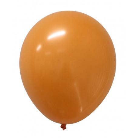 Rund ballong orange 20-p