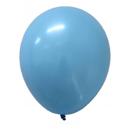 Runda ballonger Ljusblå 20-p