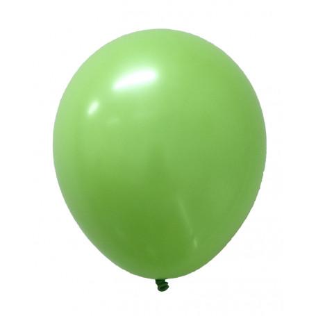 Runda ballonger i latex Lime färgade 20-p
