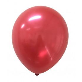 Metallic Röda ballonger 20-p metallisk festballonger latex helium