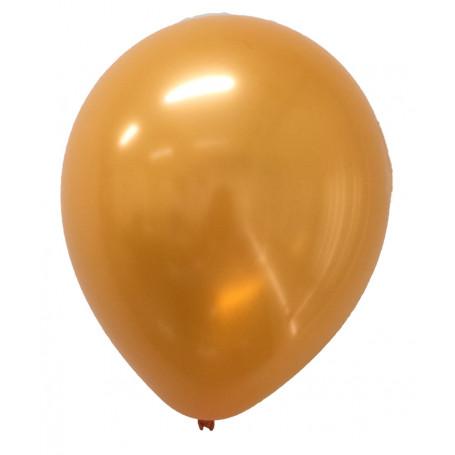 Pärlemor-skimrande ballonger Orange 20-p