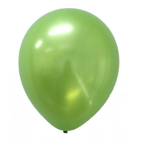 Ballonger skimrande lime färgade 20-p