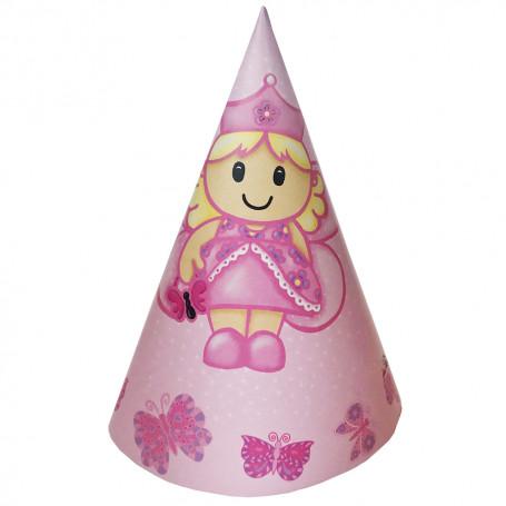 rosa kalashatt med en prinsessa