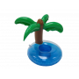Flytande dryckeshållare med palm