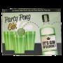 bild på spelets kartong som har en flaska och 3 muggar på framsidan