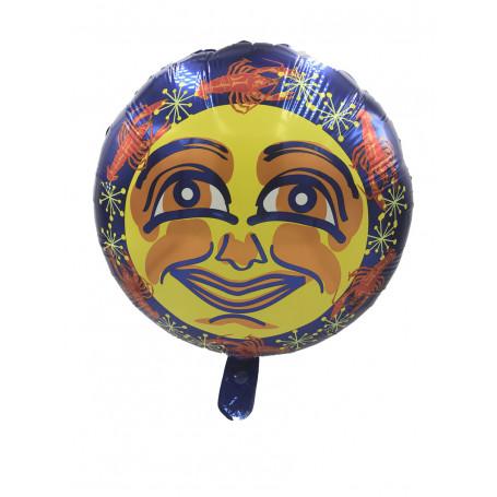 Kräftfolieballong rund