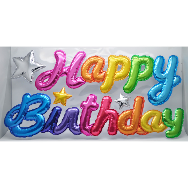 Väggstickers Happy Birthday
