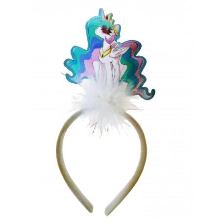 Unicorn diadem med blinkande enhörning