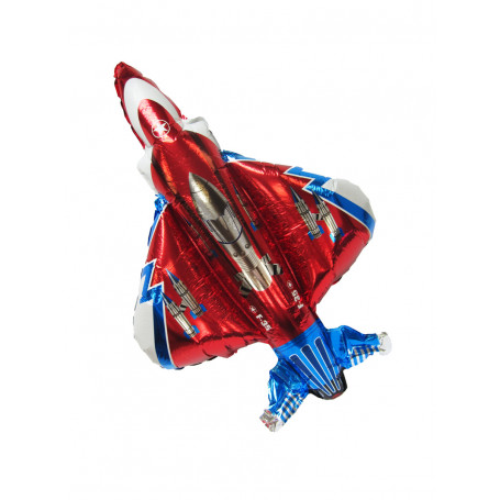 Folieballong Starfighter röd