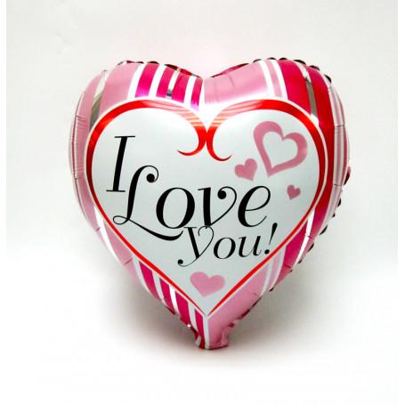 Hjärta med text I love You