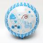 Baby Shower folieballong med texten Pojke blå