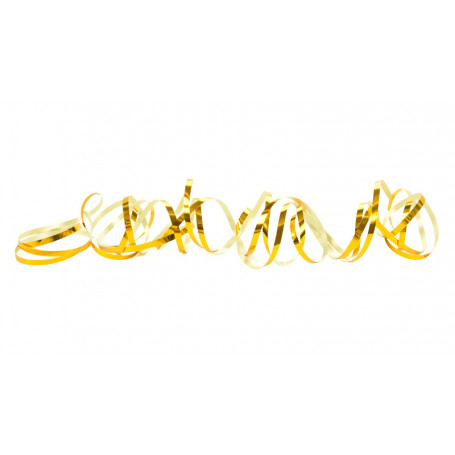 Serpentiner Laser Guld 2-pack