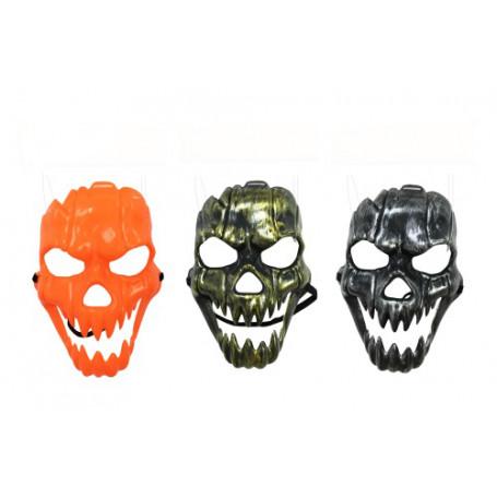 Halloweenmask läskig pumpa