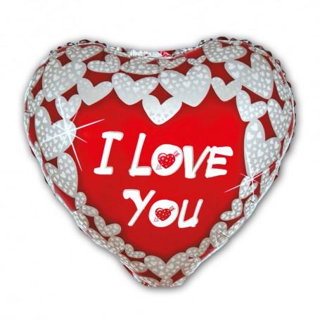 I Love You folieballong