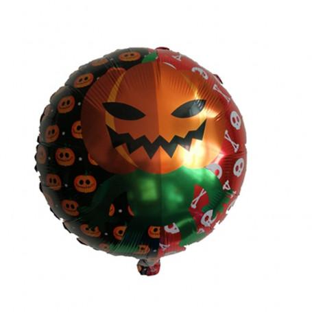 Pumpa Man folieballong rund orange