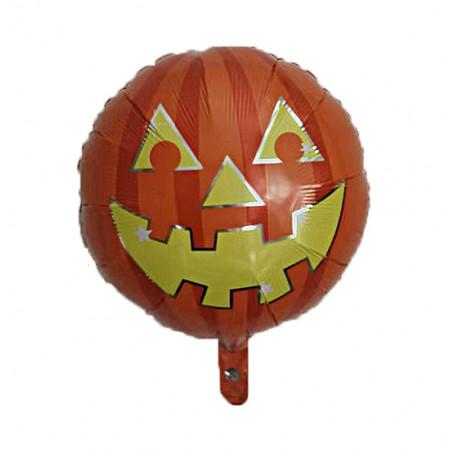 Glad Pumpa folieballong rund