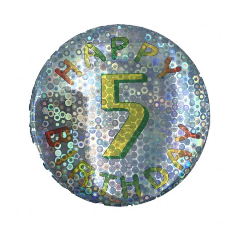 BIRTHDAY BADGE NR. 5