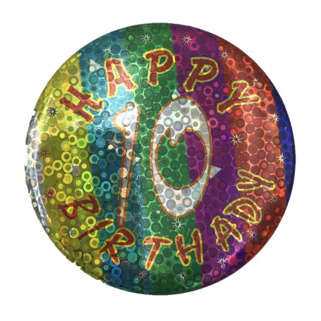 BIRTHDAY BADGE NR. 10