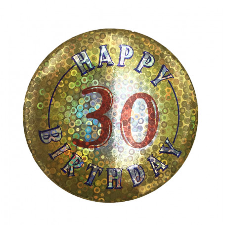 BIRTHDAY BADGE NR. 30