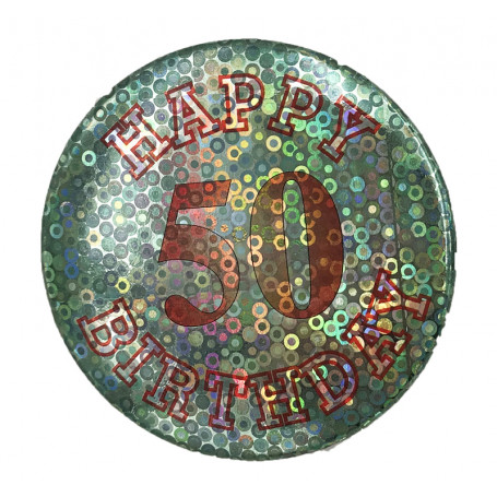 BIRTHDAY BADGE NR. 50