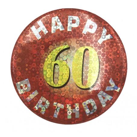 BIRTHDAY BADGE NR. 60