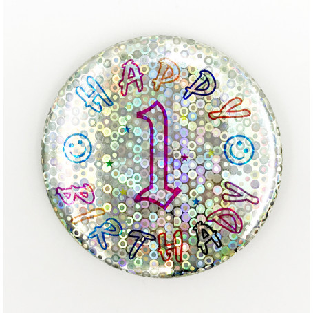 BIRTHDAY BADGE NR.1