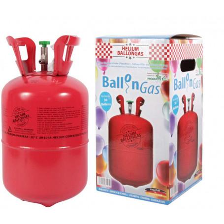 Heliumtub med gas till ballonger.