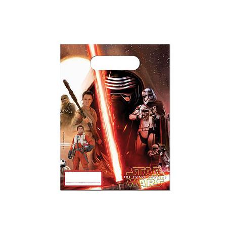 kalaspåse med figurer från Star Wars