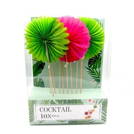Partysticks stora party blomma 10-P