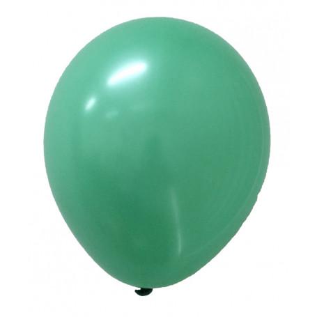 Turkos ballonger 20 stycken