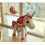 Enhörning / Unicorn Stor folieballong XL