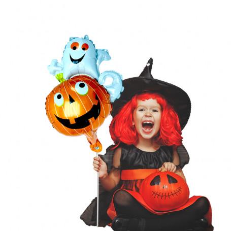 Folieballong Pumpa och Spöke