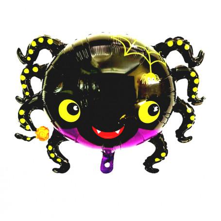 Söt spindel halloween heliumballong