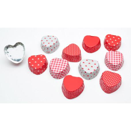 Knäckformar hjärtan - 30 st