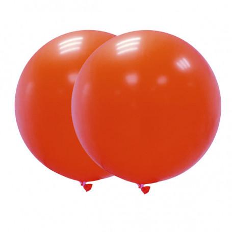 Jätteballonger röda 90 cm- 2P