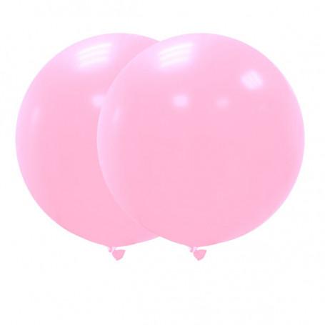 Jätteballonger 90 cm rosa