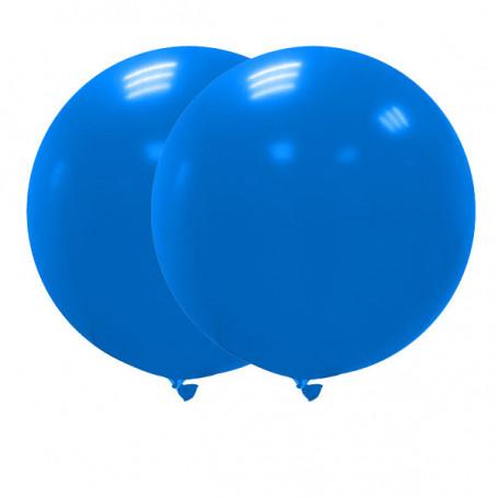 Jätteballonger 90 cm mörkblå