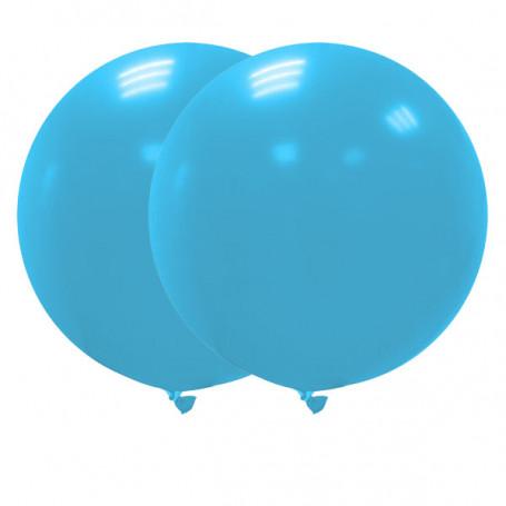 Jätteballonger 90 cm ljusblå