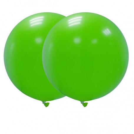 Jätteballonger 90 cm gröna