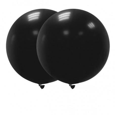 Jätteballonger 90 cm svarta
