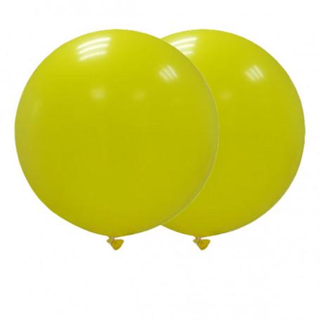 Jätteballonger 90 cm gula
