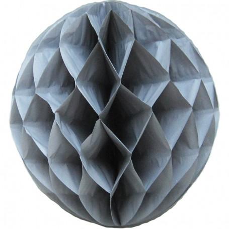 Dekorationsboll Grå 30 cm