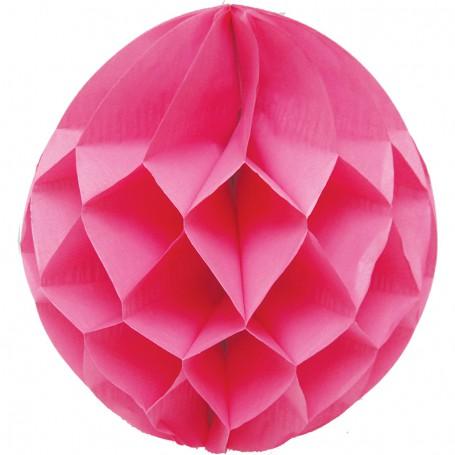Rosa dekorationsboll - 35 cm