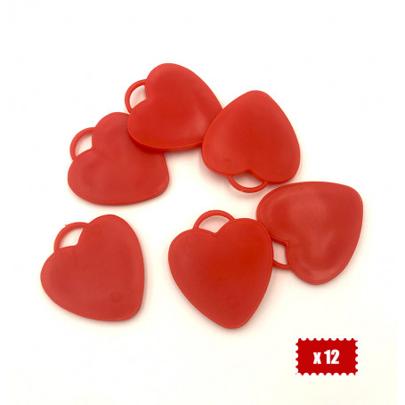 Ballongvikt hjärta -12P