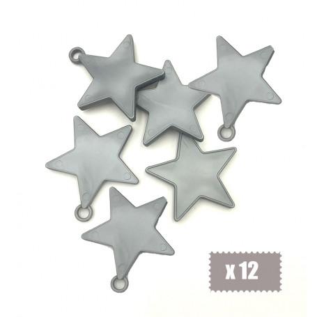 Ballongvikt stjärna silver