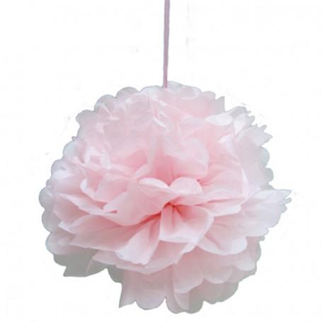 Pompom boll rosa 35cm