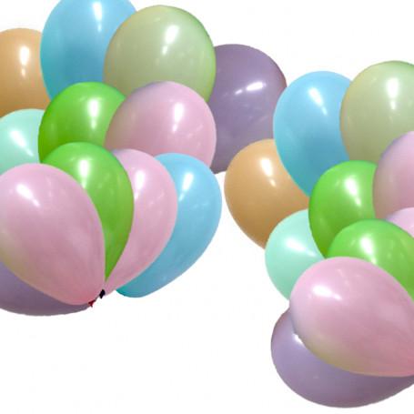 Ballonger runda i storpack 40-p
